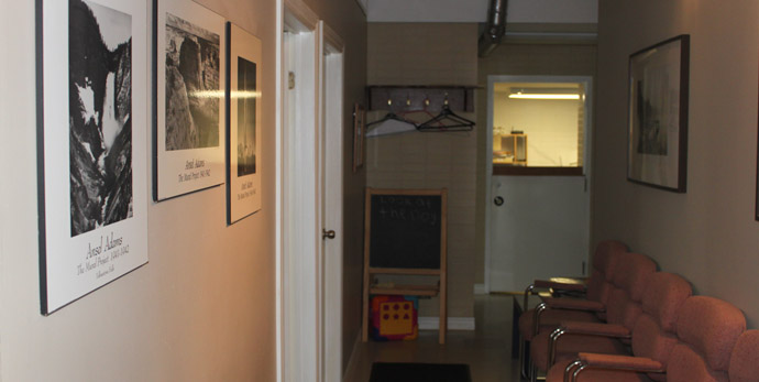 COA - Practical Training Facility, Hallway