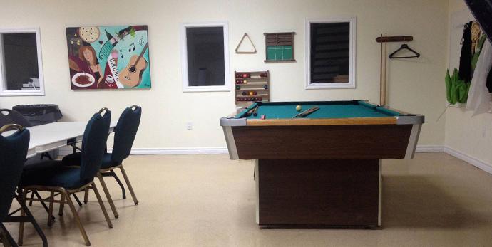 COA - Classroom Training Facility, Student Lounge